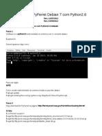 Instalação Pyferret Debian 7