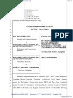 MDY Industries, LLC v. Blizzard Entertainment, Inc. et al - Document No. 13
