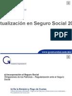 Actualización en Seguro Social 2012
