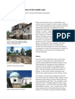 Ancient Arab Settlements of the Swahili Coast
