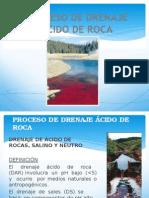 drenaje acido de roca