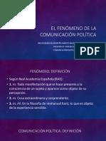 El Fenómeno de La Comunicación Política