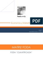 Presentacion FODA CUANTIFICADA