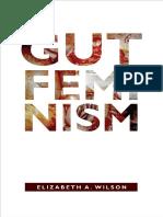 Gut Feminism by Elizabeth Wilson