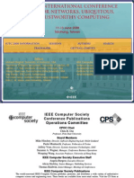 2008 Ieee International Conference on Sensor Networks, Ubiquitous, And Trustworthy Computing