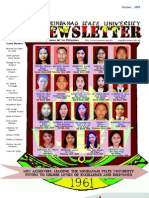 MSU Newsletter, October 2008