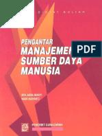 Pengantar Manajemen SDM (Human Resources)