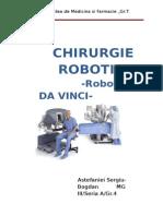 CHIRURURGIE   ROBOTICA