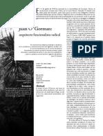 Juan O'Gorman; Arquitecto funcionalista radical