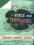 NIV Bible for Teen Girls Book of Mark