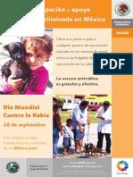 Vacunacion Antirrabica Estatal 2012 Cartel