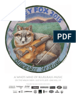 Grey Fox 2015 Program Book