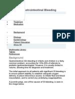 Pediatric Gastrointestinal Bleeding2