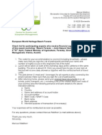 Beech Forests Vienna 2014 Information Financial Support