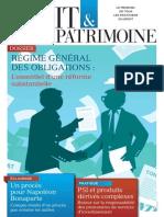 Une Droit & Patrimoine n° 249