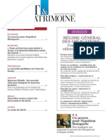 Sommaire Droit & Patrimoine n° 249