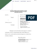 Doe v. SexSearch.com et al - Document No. 41