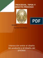 3.Diseño de Proceso y Tipos de Proceso Matriz Prod-Prox