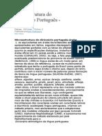 Microestrutura Do Dicionário Português.docx Arabe