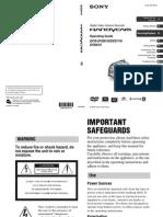 dcrdvd610 manual
