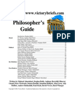 Debate Philosophers Guide