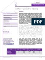 CSR Kuwait Passenger Airline Industry July2010