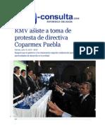 10-07-2015 E-consulta.com - RMV Asiste a Toma de Protesta de Directiva Coparmex Puebla