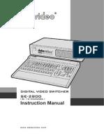 Mixer Video Datavideo_SE-2800