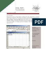 Excel Handout 1