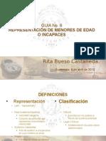 REPRESENTACIÓN DE MENORES DE EDAD O INCAPACES.ppt