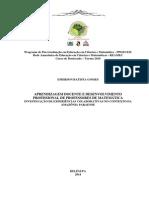 Aprendizagem Docente e Desenvolvimento Profissional de Professores de Matemática _ Emerson Batista Gomes
