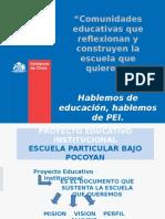 Jornada Nacional de Reflexion Pei