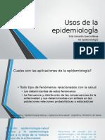 Usos de La Epidemiologia