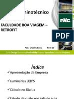 PROJETO LUMINOTÉCNICO LAMPADAS LED NVC  COM PAY BACK