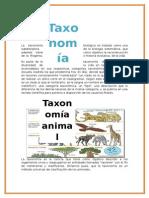TAXONOMIA BIOLOGIA