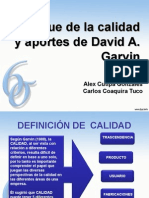 Calidad David A. Garvin