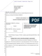 Clif Bar v. Kill Cliff - trademark complaint.pdf