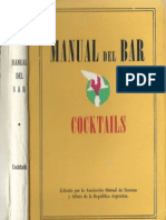 MANUAL DEL BAR, A.M.B.A. 2° EDICIÓN, 1964
