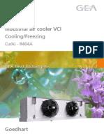 Industrijski izmenjivaci toplote GEA,tip VCI