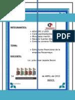 Estructura Finac Empresa Pacasmayo