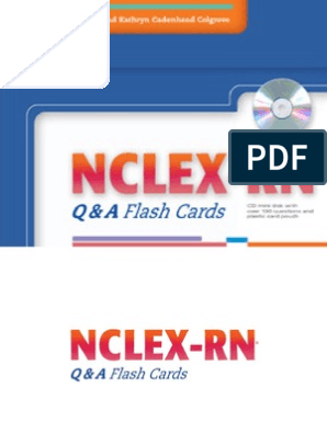 NCLEX-RN Q&A Flash Cards by Ray a  Hargrove-Huttel, Kathryn