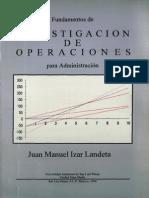 Investigación de Operaciones Para Administración(1)