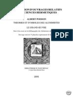 Theories Et Symboles Des Alchimistes Albert Poisson