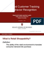 Automated Customer Tracking and Behavior Recognition