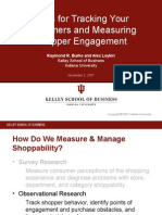 Tools for Tracking Your Customers and Measuring Shopper Engagement