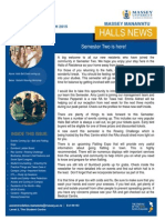 Halls News Issue Four 2015