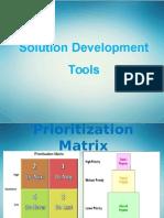 Solution Development Tools