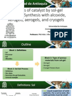 Topic 5 - Synthesis by Sol-gel Methods (MJC)