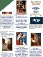 Misterios Gozosos Del Santo Rosario Agrupados en Cuatro