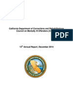 2014 CDCR Report on Mentally Ill